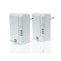 Pack X 2 Adaptadores De Red Linea Electrica Power Line 200mbps Conceptronic