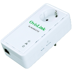 Pack X2 Adaptadores De Red Linea Electrica Power Line Rj45   Toma Corriente