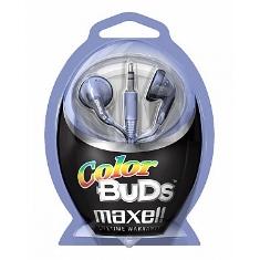 Auriculares Color Bud Maxell  Morado