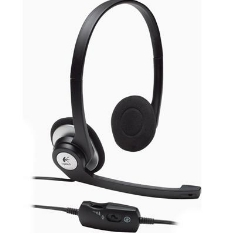 Auriculares Con Microfono  Logitech Clear Chat Pc