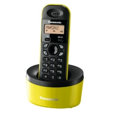 Telefono Inalambrico Digital Dect Panasonic Kx-tg1311spy  Mono  Amarillo