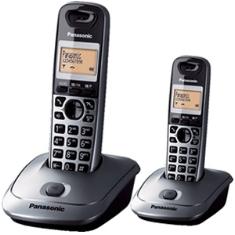 Telefono Inalambrico Digital Dect Panasonic Kx-tg2512spm  Duo  Gris Metalico
