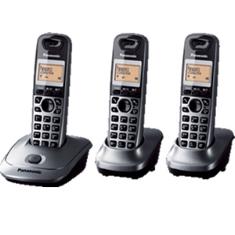 Telefono Inalambrico Digital Dect Panasonic Kx-tg2513spm  Trio  Gris Metalico