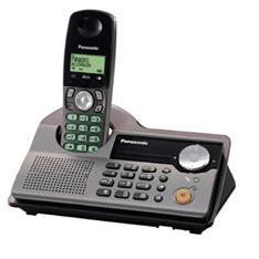 Telefono Inalambrico Digital Panasonic Kx-tcd230 Con Doble Teclado  Titanio