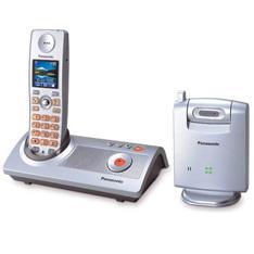 Telefono Inalambrico Digital Panasonic Kx-tg9140 Con Camara  Contestador Digital Y Pantalla A Color
