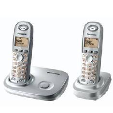 Telefono Inalambrico Lcd Panasonic Kx-tg7302sps  Plata  Duo