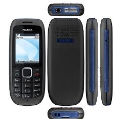 Telefono Movil Libre Nokia 1616  Negro  Pantalla Color 18  Libre
