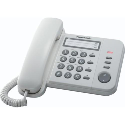 Telefono Sobremesa Panasonic Kx-ts520ex2w  Blanco