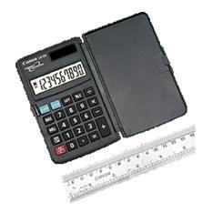 Calculadora Canon De Bolsillo 10 Digitos Solar   Pila