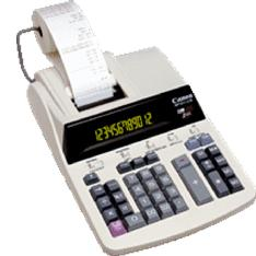 Calculadora Canon De Oficina Con Rollo 12 Digitos 2 Colores