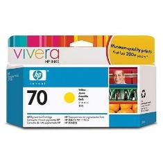 Ver CARTUCHO TINTA HP 70 C9454A AMARILLO 130ML Z2100