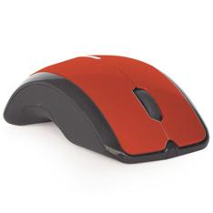 Mouse Phoenix Optico 24ghz Cordless Usb 800-1600dpi Rojo