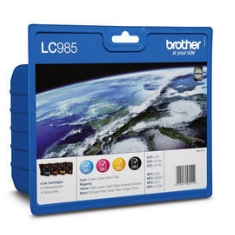 Multipack Brother Lc985valbp Dcp135