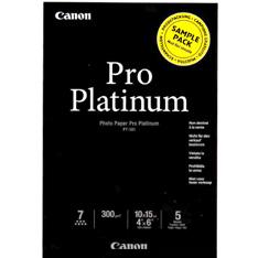 Papel Fotografico Canon Platinum Pro 10x15 300g Sample