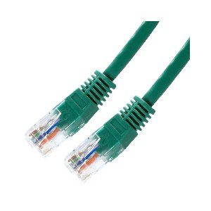 Latiguillo Rj45 Ca5 Utp Flex  2m Verde Awg24 Nanocable  10200102-gr