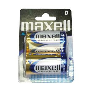 Ver PILA ALCALINA MAXELL LR20 D LR20-B2 MXL