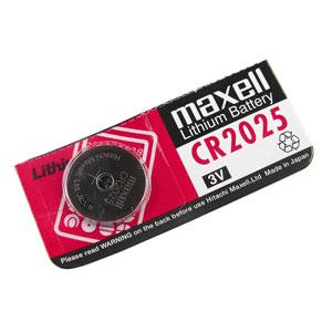 Pila Boton Litio Maxell Bl1 Cr2025
