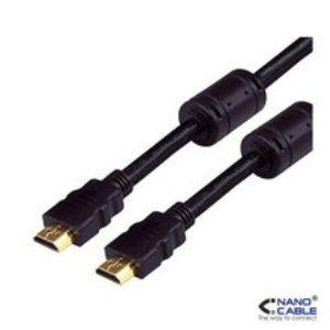 Ver CABLE HDMI AMAM  v13 18M FERRITAS NANOCABLE 10151102