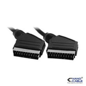 Cable Euroconector Scart Mm 21 Pines 18m Nanocalbe 10241002