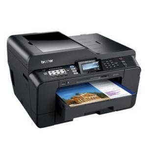 Impresora Brother Mf Inkjet Color  A3 Mfcj6910dw Fax Scan Red Wifi