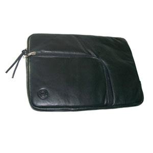 Bolsa Portatil  11-12 Sleeve Piel Negra