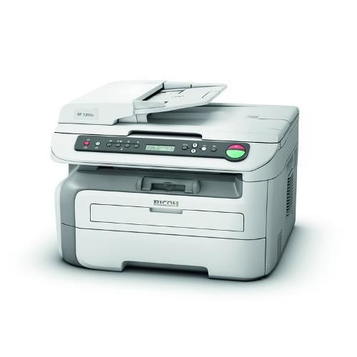 Impresora Ricoh Laser Monocromo  Multifuncion Sp1200s