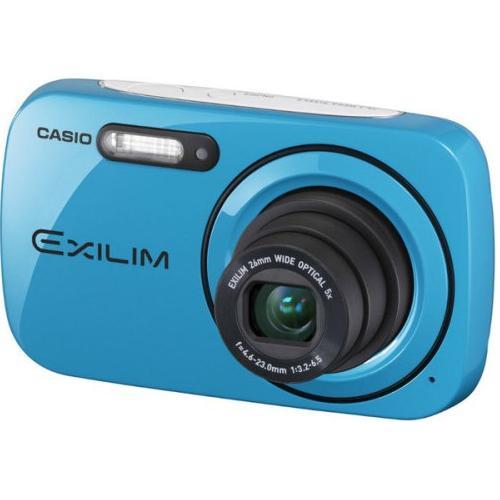 Camara Fotos Digital  Casio Casual Ex-n1be 5x 161mp 27  Azulturquesa