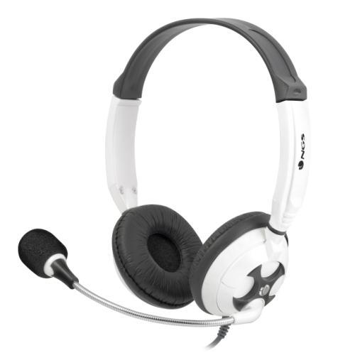 Auricular Ngs Con Microfono Msx7pro Blanco