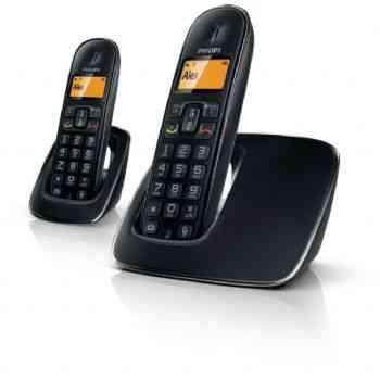Telefono Philips Cd1912b Duo Manos Libres Negro