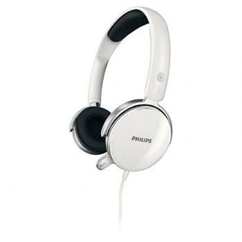 Auricular   Microfono Philips Shm7110u Blanco