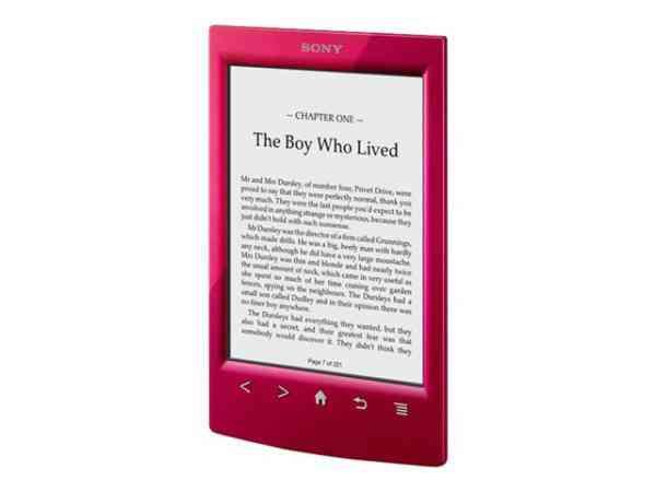 E-book Sony Prs-t2 Rojo 6 Wifi   Funda
