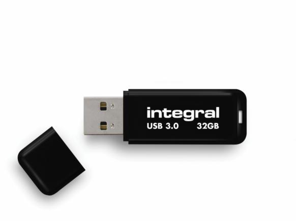 Pen Drive 32gb Integral Negro Usb 30