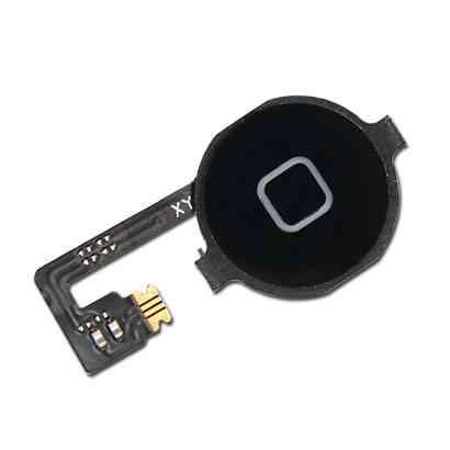 Repuesto Iphone 4g Boton Home Con Flex Negro