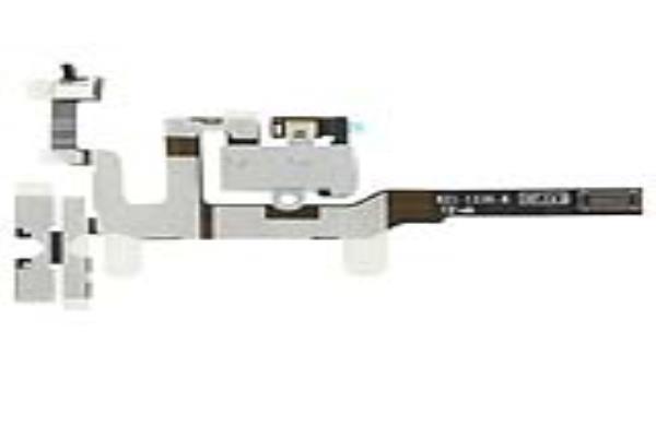 Repuesto Iphone 4g Flex Conector Jack Blanco