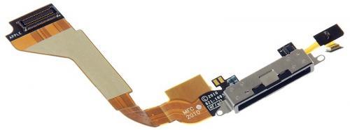 Repuesto Iphone 4g Flex Conect Dock Negro