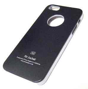 Funda Iphone 5 Air Jacket Negra