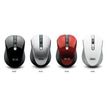 Raton Sweex Wireless Rojo