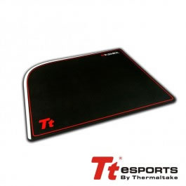 Alfombrilla Gaming Tt Esports Dasher Tejido Y Goma