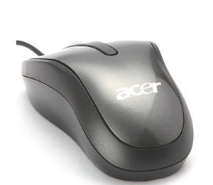Acer Optical Mouse Anthracite-wired