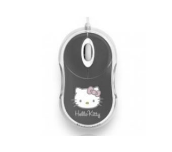 Mouse Hello Kitty Optico Usb 800dpi Gris