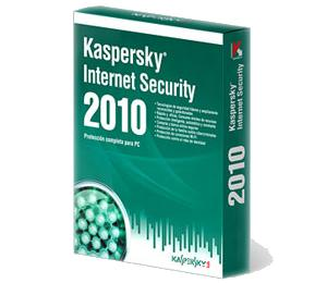 Antivirus Kaspersky 2010 Internet Security 3 Licencia