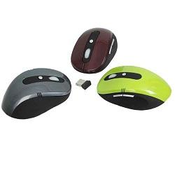 Raton Optico Wireless Primux Em2402 Negro