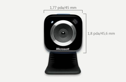 Webcam Microsoft Lifecam Vx-5000 Roja
