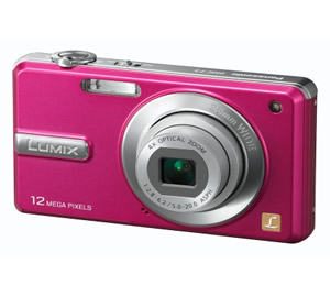 Camara Digital Lumix De Panasonic Dmc-fs10 Rosa