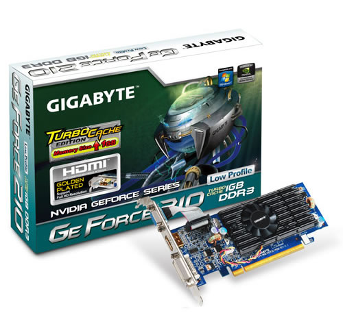 Nvidia G-force 210 Tc 1gb  Gddr2  Pcie  Gigabyte