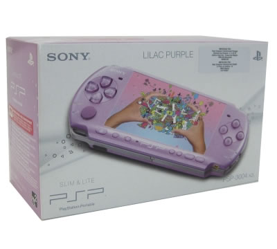 Sony Psp-3004 Slim Lila-purpura