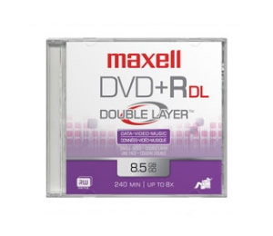 Dvd R  Maxell  240min Video  85gb  24x Speed  Doble Capa