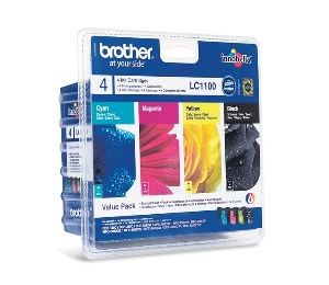 CARTUCHO DE TINTA BROTHER LC1100VALBP PACK NEGRO