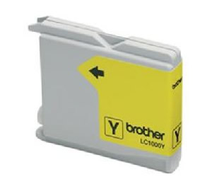 Cartucho Tinta Brother Amarillo Lc1000y 400 Paginas Fax1360 1560 Mfc-3360c Mfc-5860cn Dcp-350c