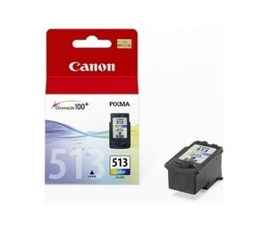 Ver TINTA COLOR CANON CL-513